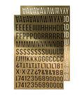 Tim Holtz idea-ology 568 pk Metallic Alpha Stickers-Gold