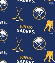 Buffalo Sabres Fleece Fabric -Tossed, , hi-res