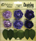Darjeeling Mini Garden Rosettes 1\u0022-Purple