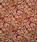 Home Decor 8\u0022x8\u0022 Fabric Swatch-Jaclyn Smith Birmingham-Sangria