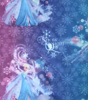 "Disney Frozen Sheer Fabric 64""-Snow Queen, , hi-res"