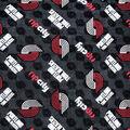 Portland Trailblazers Fleece Fabric