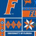 Florida Gators Fleece Fabric-Sweater