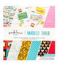 Park Lane Paperie 12\u0027\u0027x12\u0027\u0027 Printed Cardstock Collection Pad-World Tour