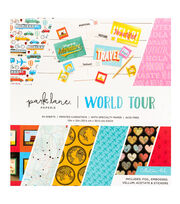 Park Lane Paperie 12''x12'' Printed Cardstock Collection Pad-World Tour, , hi-res