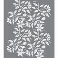 DecoArt Americana 8.5\u0027\u0027x11\u0027\u0027 Stencil-Jacobean Floral