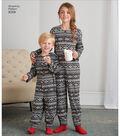 Simplicity Pattern 8269 Children, Teen & Adult Apparel-Size (XS-L/XS-XL)