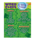 Teacher Created Resources Word Clues for Solving Problems Chart 6pk