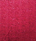 Casa Embellish Dahlia Large & Small Sequin on Mesh Fabric-Hibiscus Red