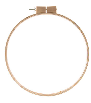 Dirtz Wooden Quilting Hoop 14""