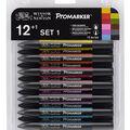 Winsor Newton Promarker Set 12pk-Set #1