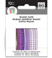 The Happy Planner Mini Washi Tape-Purple, , hi-res