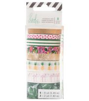 Heidi Swapp Fresh Start Washi Tape-Tropical, , hi-res