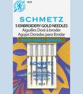 Schmetz-Gold Embroidery-Sz 14