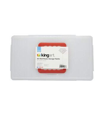 KINGART Plastic Storage Palette-40 Well