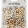 Prima Marketing Mulberry Paper Flowers -Organic Elegance/Pretty Pale