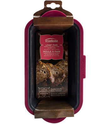 "Structure Pro Loaf Pan Fuchsia & Gray-11.5""X6"""