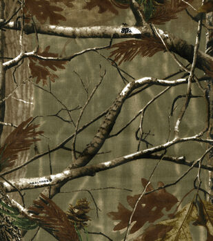 Realtree Duck Cloth Fabric -Camouflage