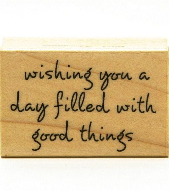 Hero Arts Rubber Stamp Wishing Good Things, , hi-res, image 1