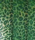 Cheetah Print Stretch Fabric 57\u0022-Green