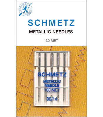 Schmetz Metallic Machine Needle 5pcs Size 90/14