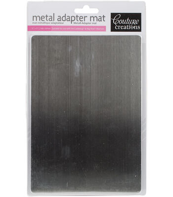 "Couture Creations Adapter For Cuttlebug & Big Shot-Metal Mat 5.5""X7.7"""