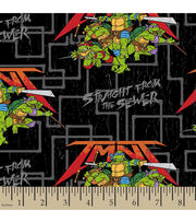 "Teenage Mutant Ninja Cotton Fabric 43""-Straight from the Sewer, , hi-res"