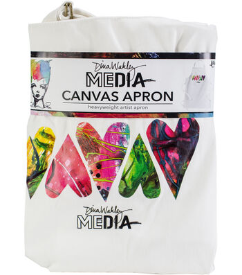 Ranger Dina Wakley Media Canvas Apron