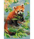 Red Panda Counted Cross Stitch Kit 14 Count