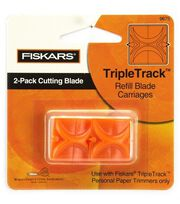Fiskars Trimmer Replacement Blades-2PK/Straight, , hi-res
