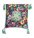 RIOLIS Cushion Counted Cross Stitch Kit 15.75\u0022X15.75\u0022-Pansy (14 Count)