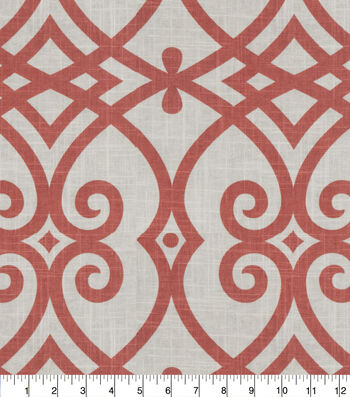 Jaclyn Smith Multi-Purpose Decor Fabric 54''-Coral Reef Gatework