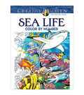 Sea Life Color by Number Book