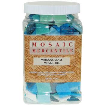 Mosaic Mercantile Vitreous Glass Mosaic Tile Horizon Mix