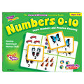 TREND enterprises, Inc. Numbers 0-10 Match Me Games