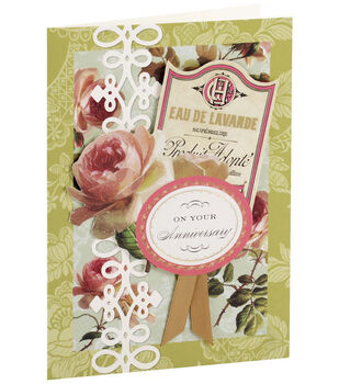 Anna Griffin Card Kit Anniversary Garden