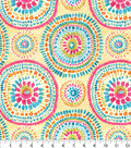 Home Essentials Upholstery Fabric 45\u0027\u0027-Peony Carousel