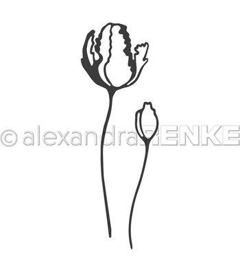 Alexandra Renke Die-Tulip W/Bud