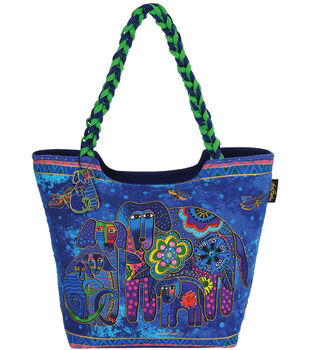 Laurel Burch Scoop Tote 19''x5''x14''-Canine Family