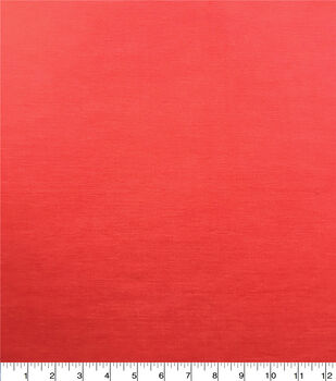 Americana Summer Stretch Twill Fabric-Hibiscus Red Sandwashed