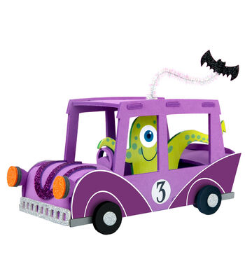 Little Maker's Halloween 3D Structure-Car