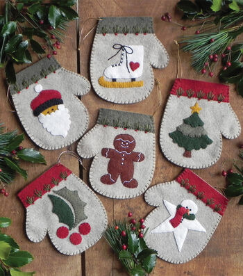 Warm Hands Ornament Kit 6/Pkg-Warm Hands