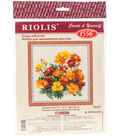 RIOLIS 7.75\u0027\u0027x7.75\u0027\u0027 Counted Cross Stitch Kit-Marigolds