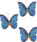 Ultimate Crafts Bohemian Bouquet Butterflies-Blue Layered Butterflies