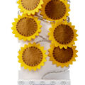 Simply Autumn 10 ct Fabric Sunflower String Lights