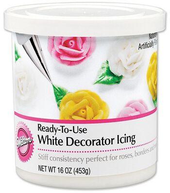 Wilton® Ready-To-Use Decorator Icing-White