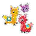 Llama Llove Sparkle Stickers-Large 20 Per Pack, 6 Packs