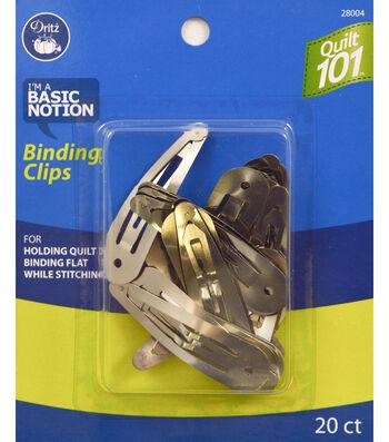 Dritz Quilt 101 Binding Clips 20pcs