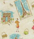 Home Decor 8\u0022x8\u0022 Fabric Swatch-Tres Chic Flamingo