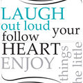 Wall Pops Laugh Out Loud Wall Quote Decals, 29\u0022 x 13\u0022
